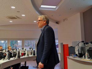 Begrüßung durch Dr. Markus Tiemann